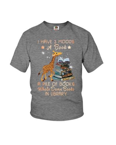 Giraffe books my moods