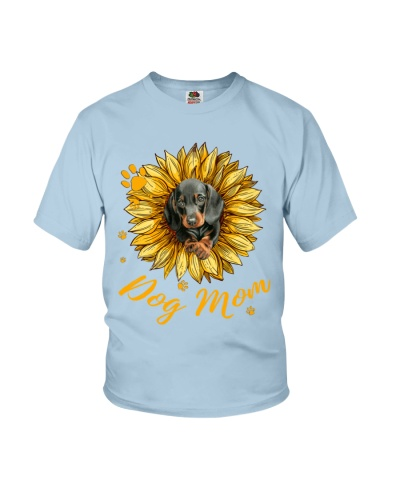 Dachshund Mom Sunflower