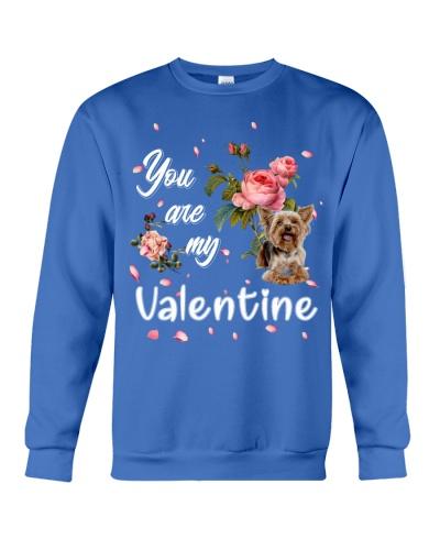 Yorkshire terrier U r my valentine