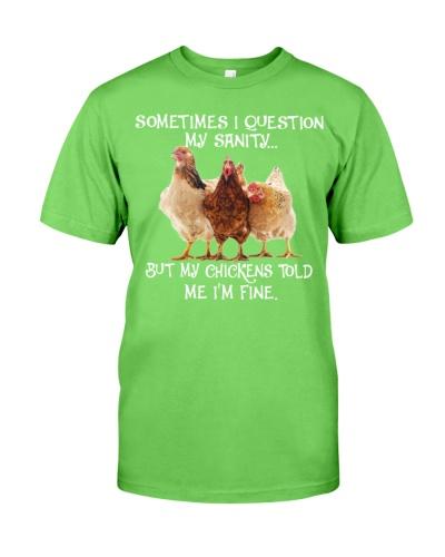 SHN 10 Question my sanity Chicken