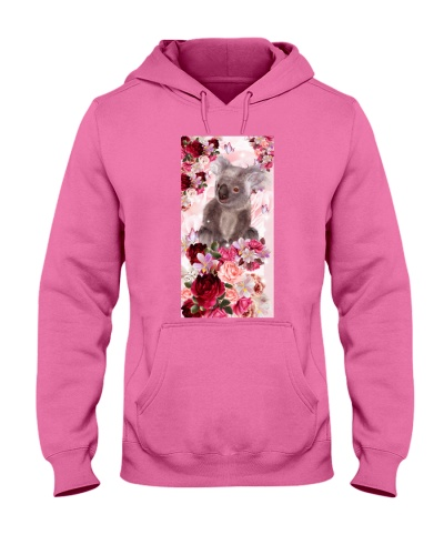 SHN 10 Pink roses Koala phone case