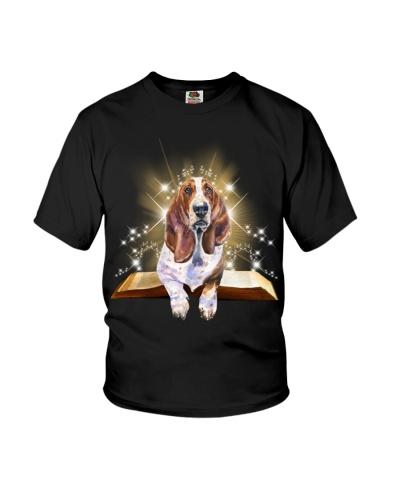 Basset hound magical book