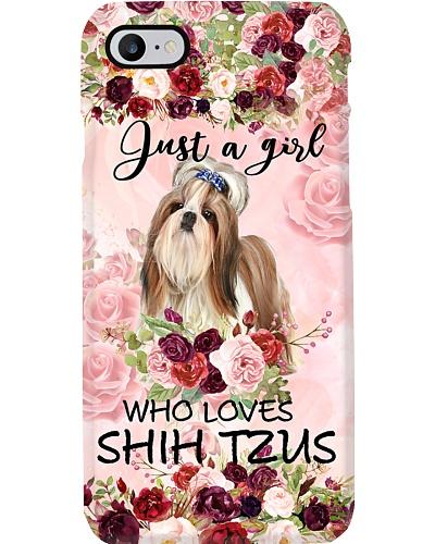 Ln shih tzu just a girl case