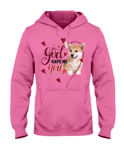 SHN 3 God gave me you Corgi shirt