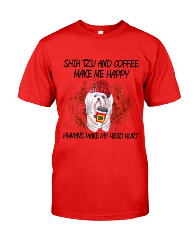 Shih tzu and coffee boombayah