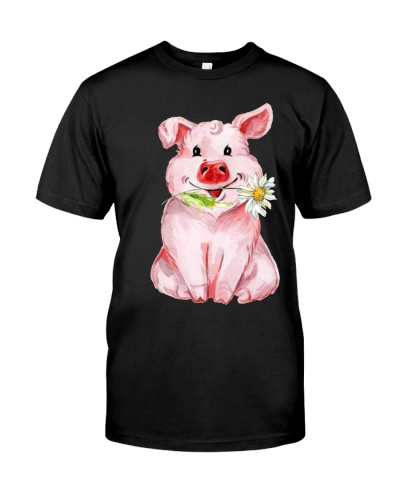 Pig some days two side shirt