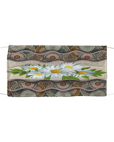 Love Daisy Flower Boho Pattern