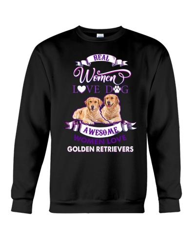 Mt 7 Awesome Women LoveGolden Retriever Shirt
