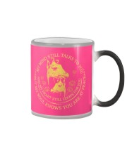 Giraffe my mind necklace Color Changing Mug thumbnail