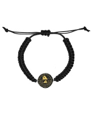 Giraffe my mind necklace Cord Circle Bracelet thumbnail