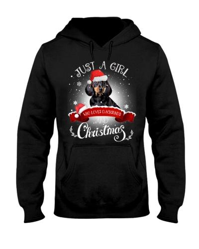 Dachsund And Christmas