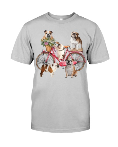 Bulldogs and bike