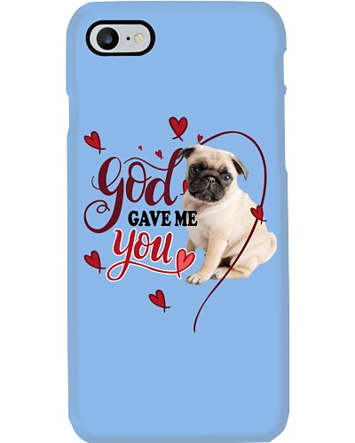SHN 3 God gave me you Pug shirt