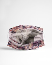 th 2 elephant color pattern Cloth face mask aos-face-mask-lifestyle-22