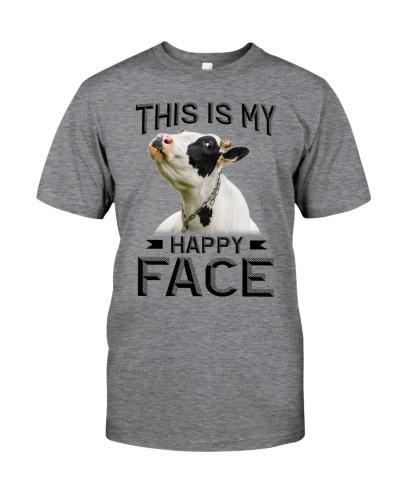 Cow my happy face