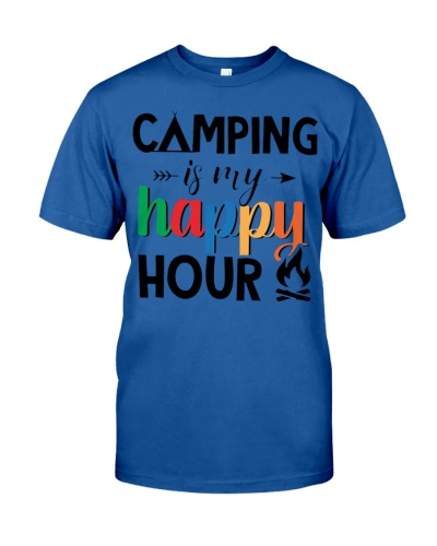 Camping happy hour