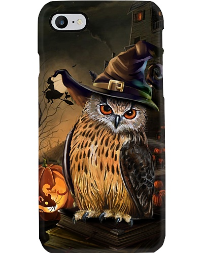 Owl halloween phone case