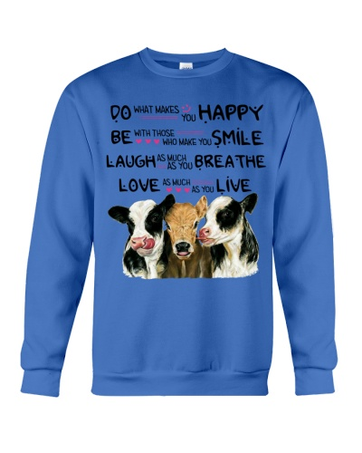 Ln 2 cow do what makes you happy