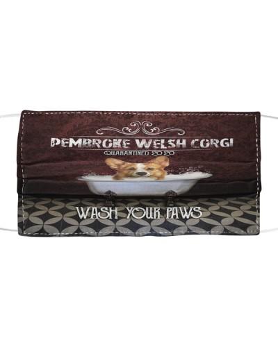 TH 32 Pembroke Welsh Corgi Wash Your Paws