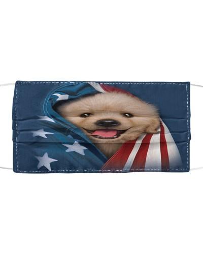 Proud Of My America Golden Retriever