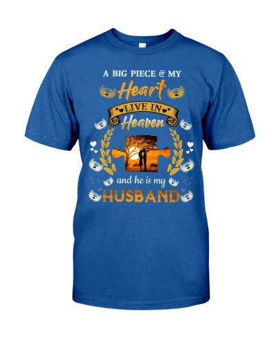 SHN Big piece of my heart live in heaven Husband