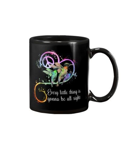 Hummingbird all right mug