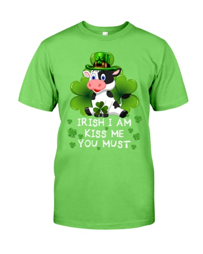 SHN Irish I am kiss me you must Cow