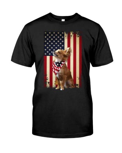 fn 1 chihuahua proud shirt