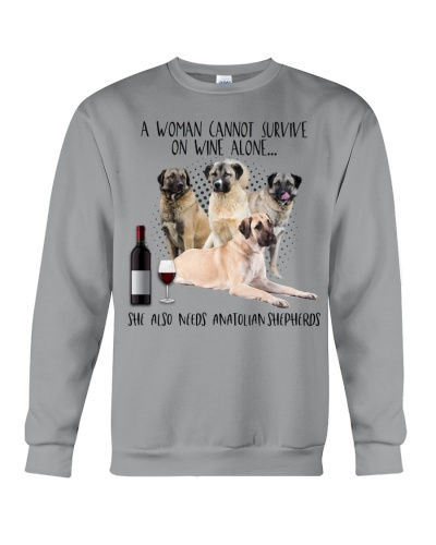 Anatolian shepherds wine she needs