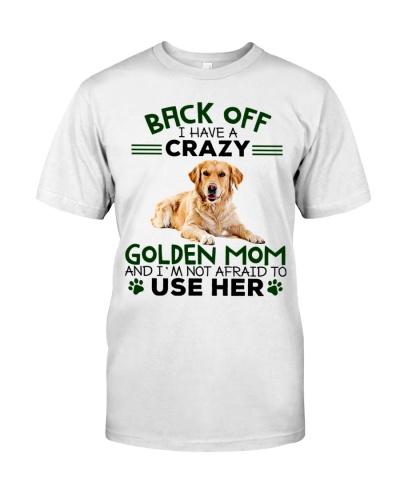 Golden Retriever Back Off