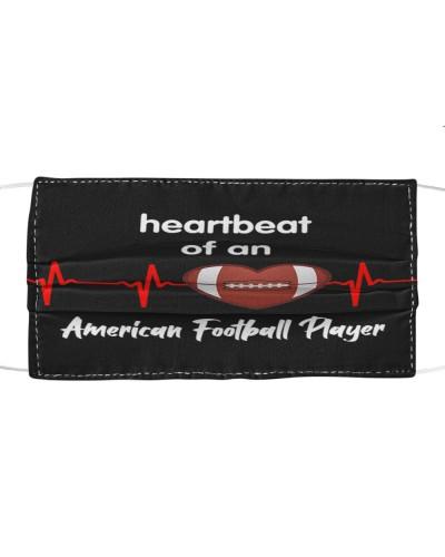 SHN Heartbeat of an American football player