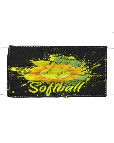 dt 9 softball black cloth mask 22420