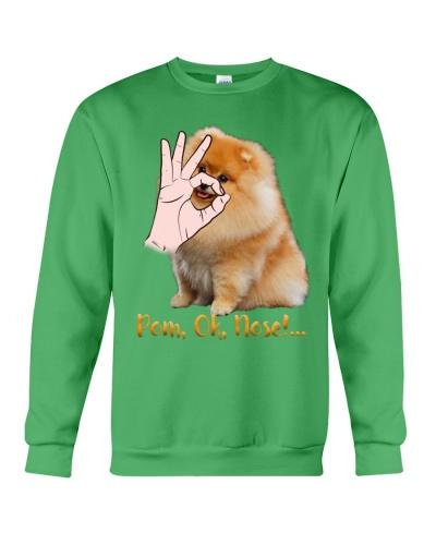Pomeranian Ok Nose Shirt