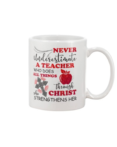 Teacher Never underestimate