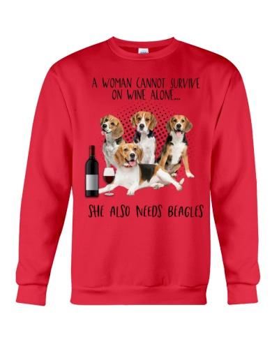 Beagles wine she needs