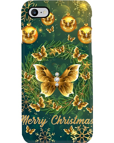 SHN Gold Christmas decoration Butterfly case