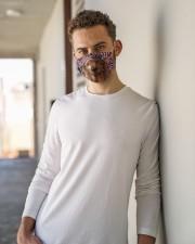 TH 32 Rhodesian Ridgeback In USA Pattern Cloth face mask aos-face-mask-lifestyle-10