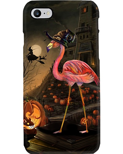 Flamingo halloween phone case