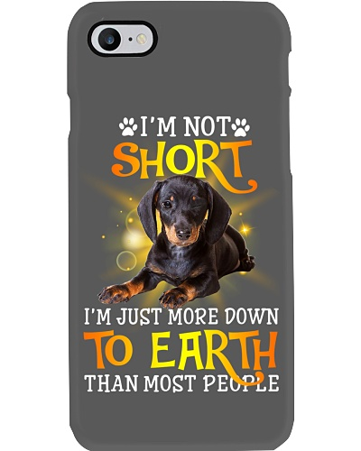 Im Not Short Dachshund