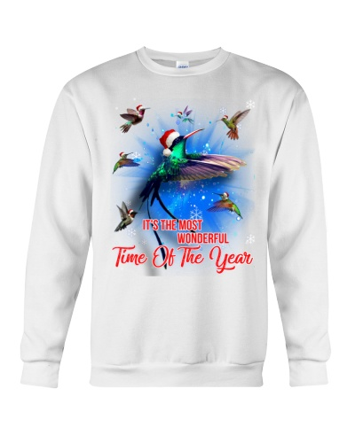 Most wonderful time of the year Humming bird