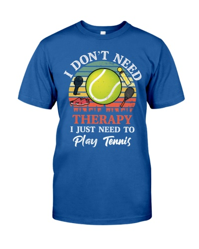 SHN Don't need therapy need to play tennis