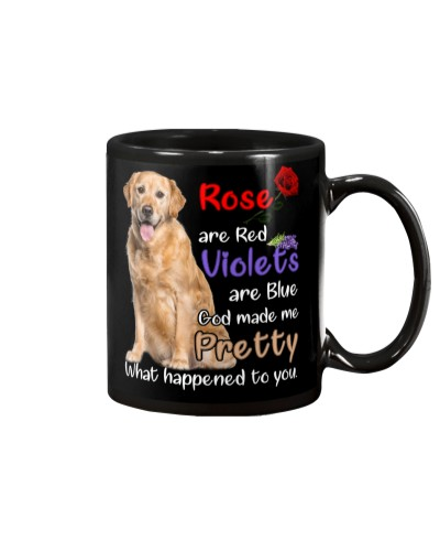 Rose are red violet are blue Golden retriever