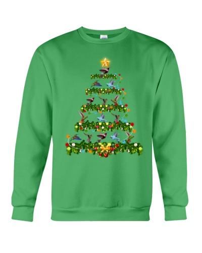Humming bird  noel christmas tree