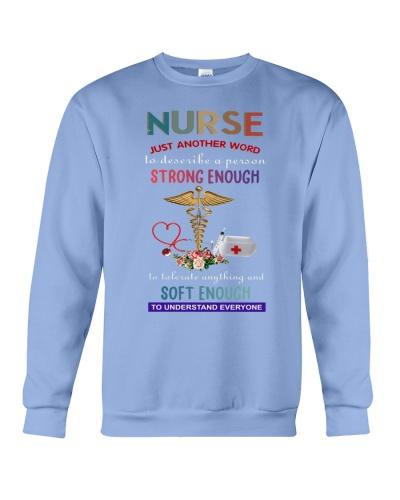 SHN Strong enough soft enough Nurse shirt