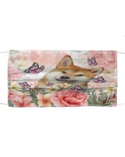 TH 2 Shiba Inu Spring Cloth face mask front
