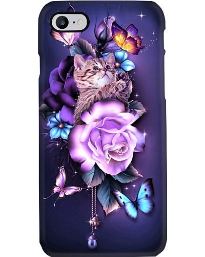 Cat magical phone case