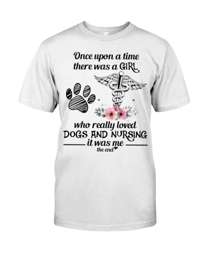 Nursing dogs girl