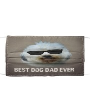 Th 5 Old English Sheepdog Best Dog Dad Ever Cloth face mask front