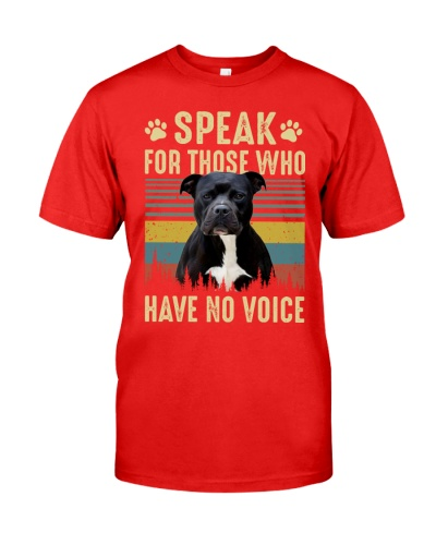 Speak for those who have no voice pitbull