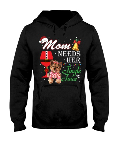 Mom Needs Her Jingle Juice Yorkshire Terrier